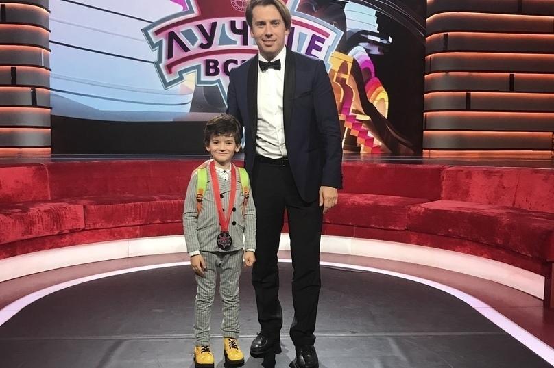 На шоу «Лучше всех» выступил 7-летний Миша Мяло из Оренбурга